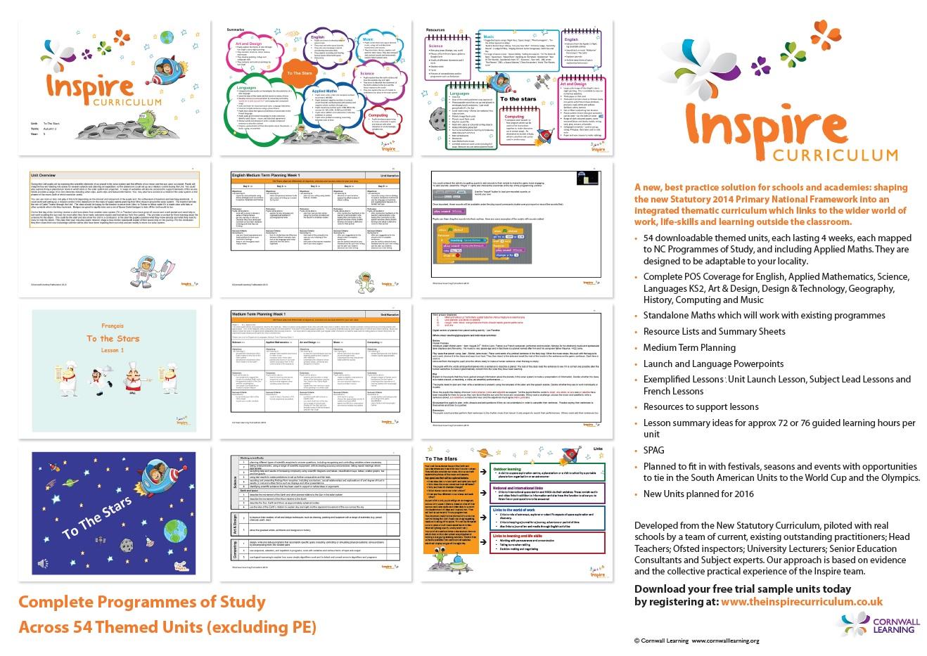 Inspire Leaflet Front